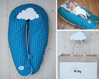 Cushion maternity pack 3 in 1 - 2 m, ultrafine microbeads cushion - Hubby Prague