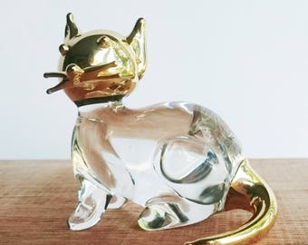 Glass  Blown  Miniature Cat