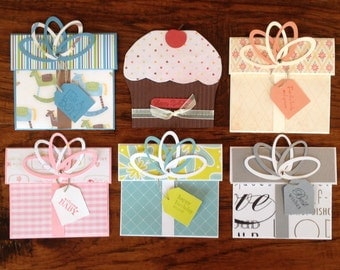 Gift Card Holders Set #1
