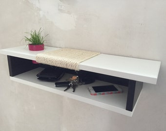 Design cat furniture / scratching / Kalanchoe / black & white Special Edition / size L
