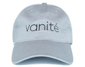 Grey Vanité dad hat