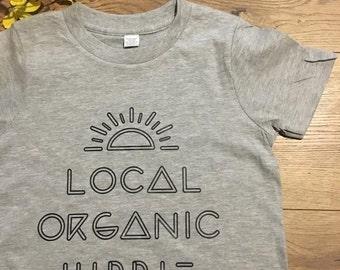 Kid's Local Organic Hippie Shirt