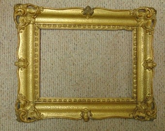 18th Century Carved and Gilded Frame