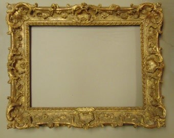 18th Century Carved and Gilded French or English Frame