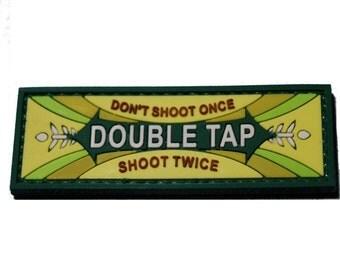 Double Tap Mint Morale Patch PVC