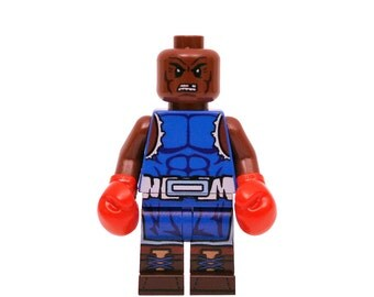 LEGO Minifigures Custom Street Fighter - Balrog Made with Original LEGO Parts