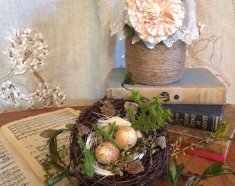 Shabby Chic Mason Jars: Table Decorations, Weddings, Showers, Baby Showers, Farmhouse Decorations, Rustic Decorations