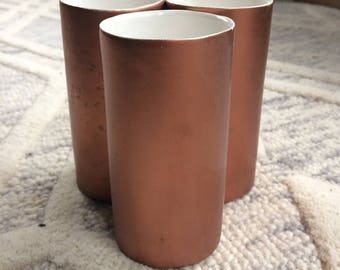 Copper Bouquet Vase
