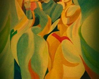 Radhe-Krishna Painting