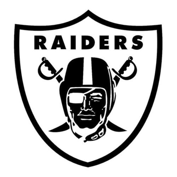 Vinyl Decal Sticker - Oakland Raiders Decal for Windows, Cars, Laptops, Macbook, Yeti, Coolers, Mugs etc