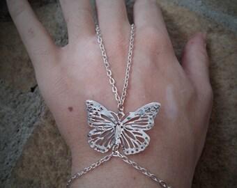 "Jewel of hand / set of hand / jewel of marriage ""Elégance"""