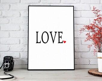 Love, Girlfriend Gift,Boyfriend Gift,Trending,Art Prints,Instant Download,Printable Art,Wall Art Prints,Digital Prints,Best Selling Items