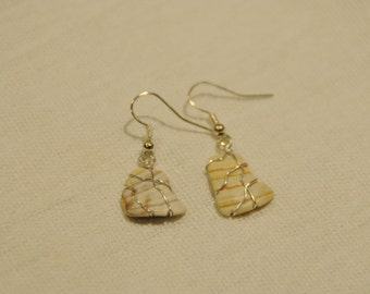 Seashell Earrings, Beach Earrings, Shell Earrings, Boho, Festival earrings, Handmade earrings