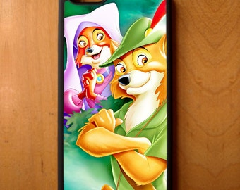Disney Robin Hood Maid Marian Phone Case Cover Samsung Galaxy S6 S7 S8 Note Edge Apple iPhone 4 5 5S 5C 6 6S 7 SE Plus + G3 skin snap rubber
