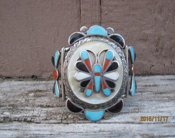 Vintage Zuni Cuff by Theodore Edaakie-Make An Offer