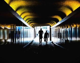 London photography, London street photography, London prints, fine art photography, London photos, Wall art, Home decor, Tower bridge,tunnel