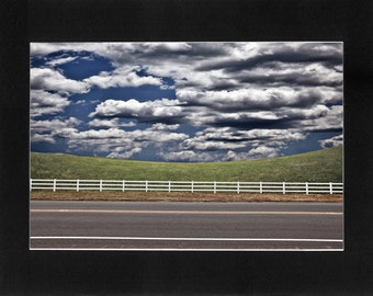 """Custom Matted Print 0106. """"Manufactured Landscape"""" - Collectable Photographic Artwork. (11"""" x 14"""")"""