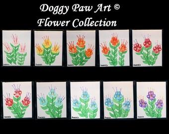 Teddy Bear Paw Art and Doggy Paw Art