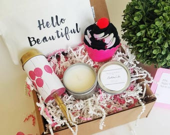 Birthday Gift Basket. Best Friend Birthday Gift. Birthday Gift For Her. Birthday Gift Box. Birthday Box For Her.
