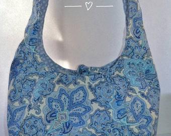Boho style paisley bag