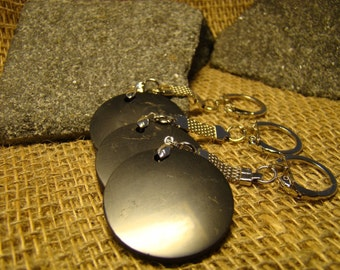 Shungite Keychain Set 3 pieces of Karelia.