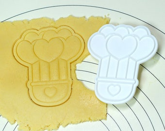 Heart Hot Air Balloon Cookie Cutter and Stamp