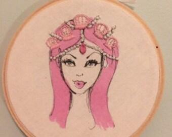 Sasha Embroidery hoop