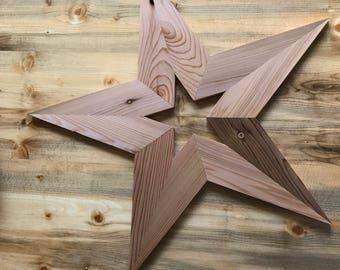 Medium Reclaimed Wood Star