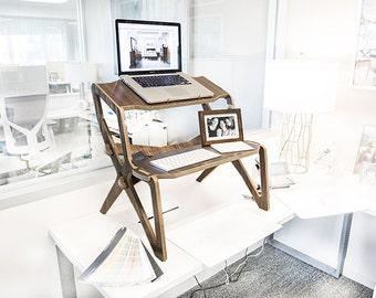 StällDesk Handmade standing desk,  the standing desk, reinvented. Ergonomic eco-friendly standup desk. High quality, lightweight & strong.