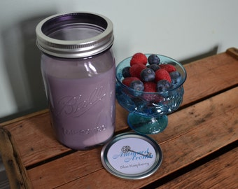 Blue Raspberry Soy Candle