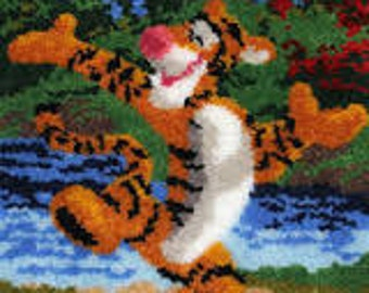 Tigger Latch hook