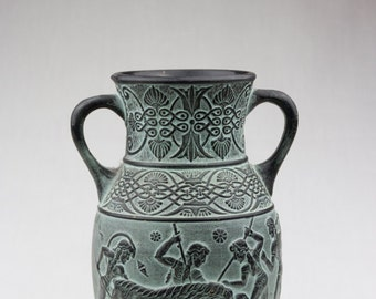 Vintage Greek Flower Vase, Flower Vase, Greek, Roman