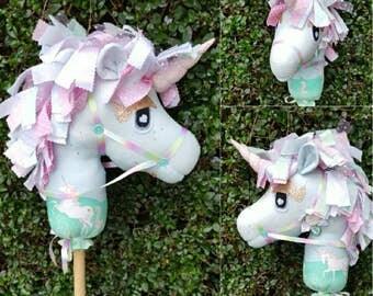 Hobby Horse , Stick Horse , Handmade, girls toy, boys toy , Handmade Ce certified