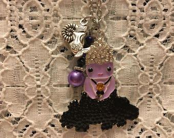 Ursula Crystal Charm Pendant/Ursula Little Mermaid Jewelry/Ursula Necklace/Ursula/Ursula Pendant/Disney Jewelry/Little Mermaid Jewelry