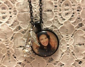 Selena Charm Necklace/Selena Jewelry/Selena Memorial Necklace/Selena Pendant/Selena Charm Pendant/Selena Memorial Jewelry
