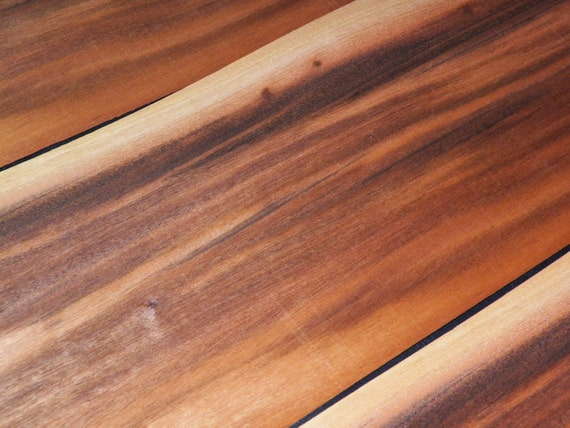 Tigerwood Raw Wood Veneer Sheets AKA: Goncalo Alves 6.75 x ...