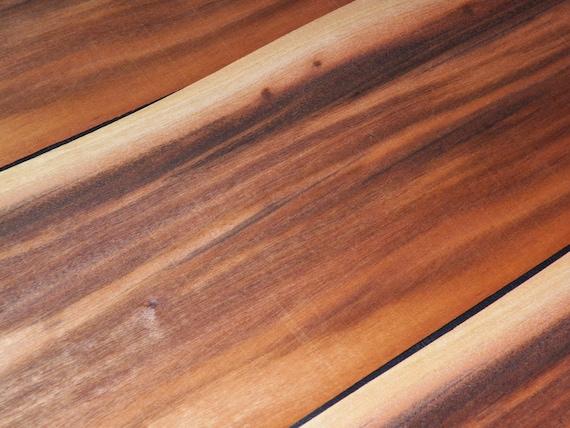 Tigerwood Raw Wood Veneer Sheets AKA: Goncalo Alves 6.75 x ...