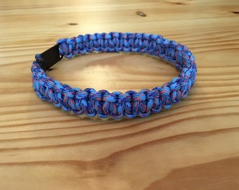Greyhound Silent Tag Collar- Dog Tag Collar- Paracord Tag Collar