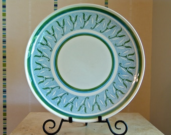 "12"" Round Mid-Century Platter 