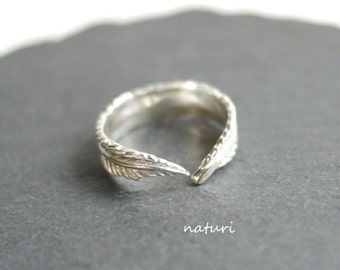 plume/sv925 feather ring