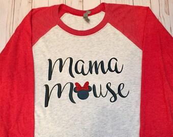 Mama Mouse raglan