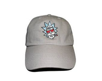 NEW Rick, Rick and Morty Baseball Cap Dad Hat Adjustable back strap Custom Embroidered Dad Hat