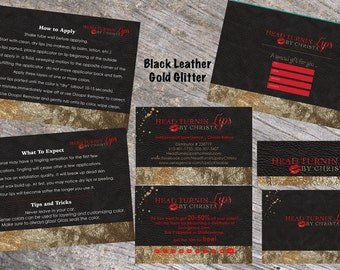 LipSense Branding Pack Printable, LipSense Marketing Kit, LipSense Business Card Printable, SeneGence Branding Pack, LipSense Tips Card