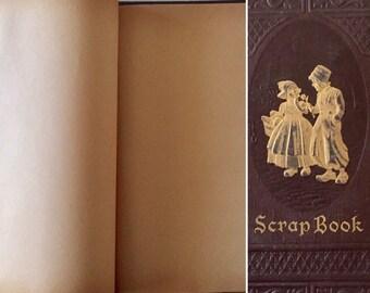 SALE- Vintage Scrapbook - Blank - 1950's- Ephemera