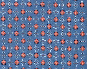 Stonington - Snowflake Medallion by Denyse Schmidt/ Free Spirit Fabrics - Sold by the Yard