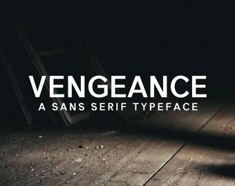Vengeance Font Family
