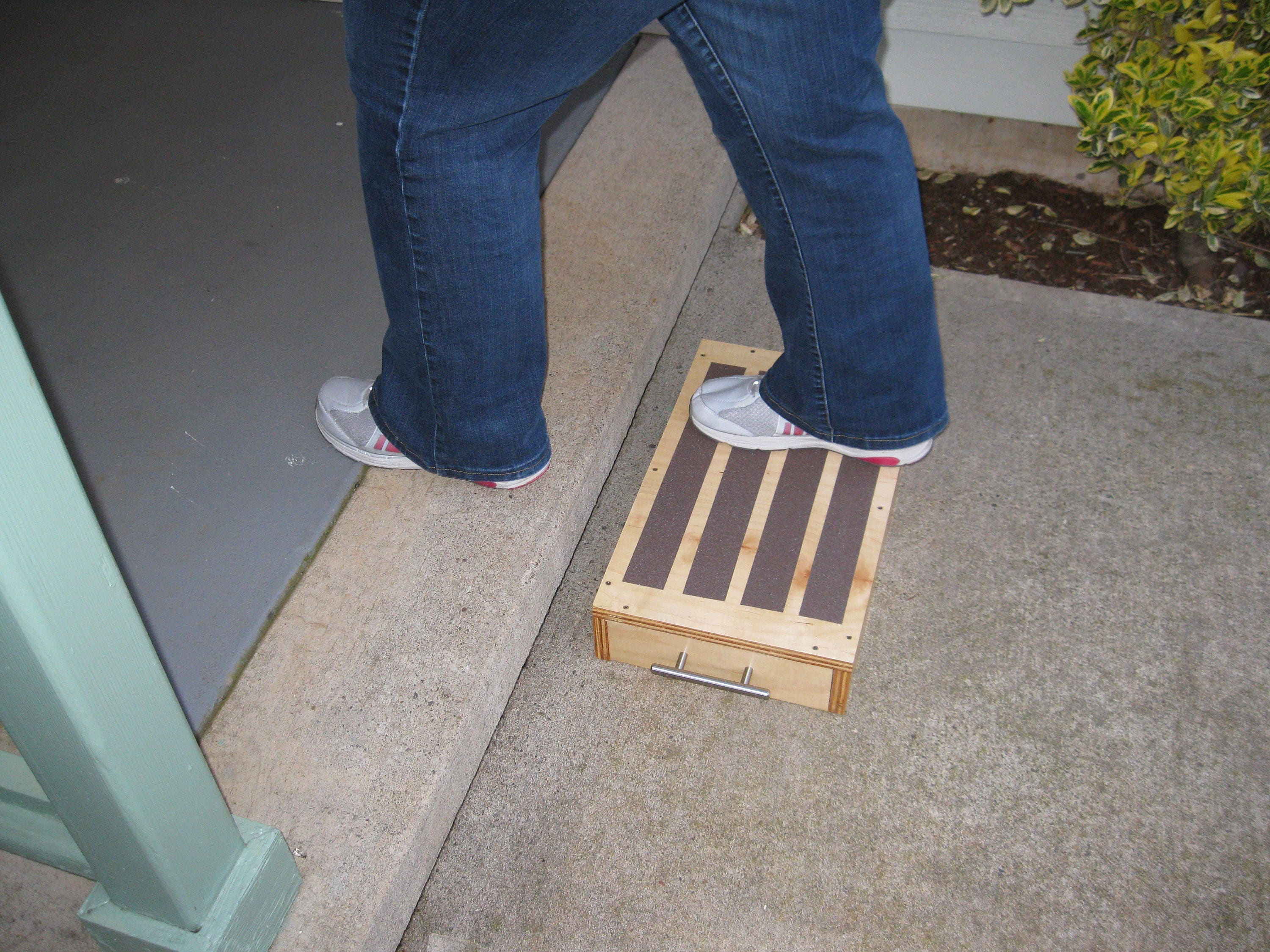?zoom & Therapy Exercise Step-Step Stool-Handicap Step-Maple 11 3/4 by islam-shia.org