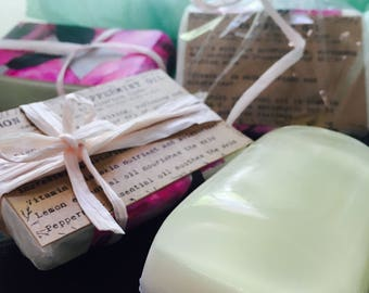 Pure ingredients soaps