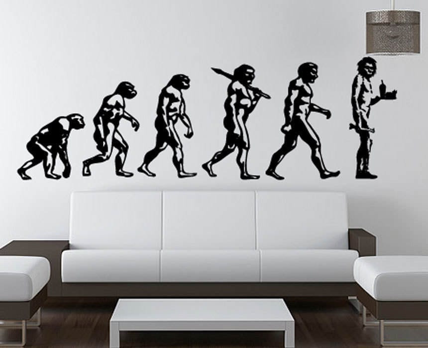 Banksy Wall Decal | Etsy