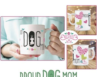 Mug Poud Dog Mom